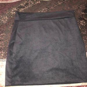 Black fashion nova skirt